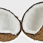 coconut halves